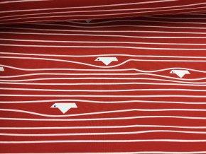 Zimní softshell - lodičky - červené