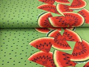 Úplet - bordura melouny