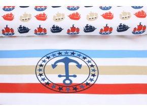 Úplet - panel - námořní lodě
