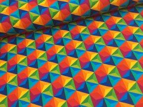 Úplet - abstraktní tvary - deštník