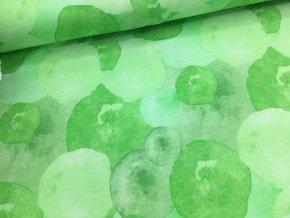 Úplet - bubliny - zelená