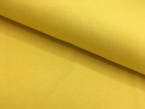 Úplet - jednobarevný - pastelově žlutá