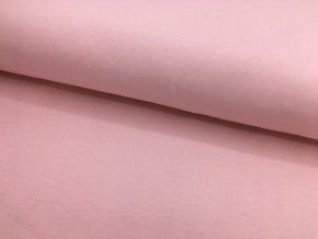 Úplet - jednobarevný - pastelově růžová