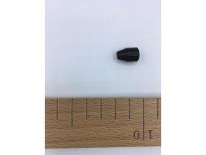 Koncovka - O 8mm - černá
