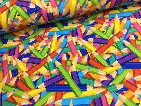 Úplet - pastelky - 52cm (2.jakost)