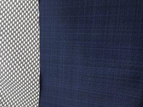 Jarní softshell - jednobarevný - tmavě modrá