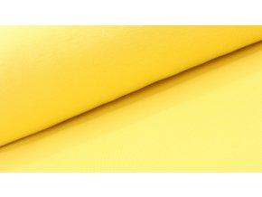Náplet - hladký - pastelově žlutý - doprodej 13cm