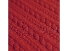 Jacquard Fabric Dark Red 800x800