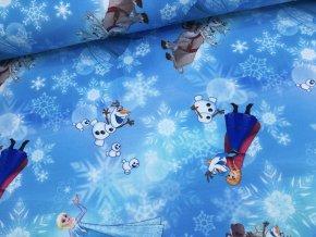 Úplet - Ledové království - modrá - doprodej 31cm