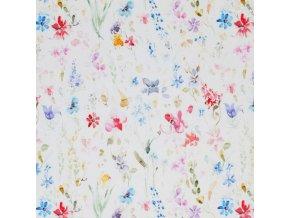 Jersey Fabric Field Flowers 1 800x800