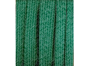 Merino - jehličí na zelené - doprodej 38cm