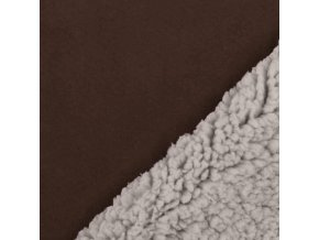 Wildlederimitat Lamm Stoff Braun 800x800