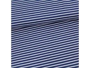 biojersey streifen marineblau gots