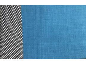 Jarní softshell - jednobarevný - petrolejová - doprodej 96cm