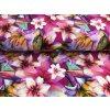Úplet - květy Amaryllis - fuchsie