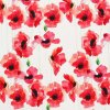 Viscose Jersey Watercolor Poppies 800x800