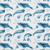 Jersey Fabric Whales 800x800