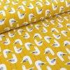 organic jersey seagulls mustard
