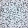 Bavlna - lamičky - vymalovávací - doprodej 45cm