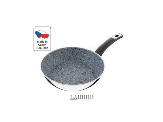 KOLIMAX Pánev FLONAX COMFORT, průměr 26 cm, šedá