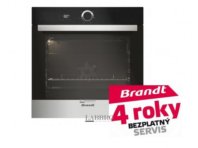 Trouba Brandt BXE5532X  + 4 roky bezplatný servis + sleva po přihášení 5%