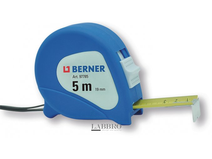 svinovací metr 5m Berner