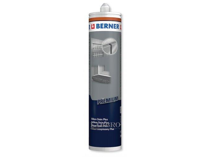 Berner Silikonový těsnící tmel Oxim Premium Plus bílý