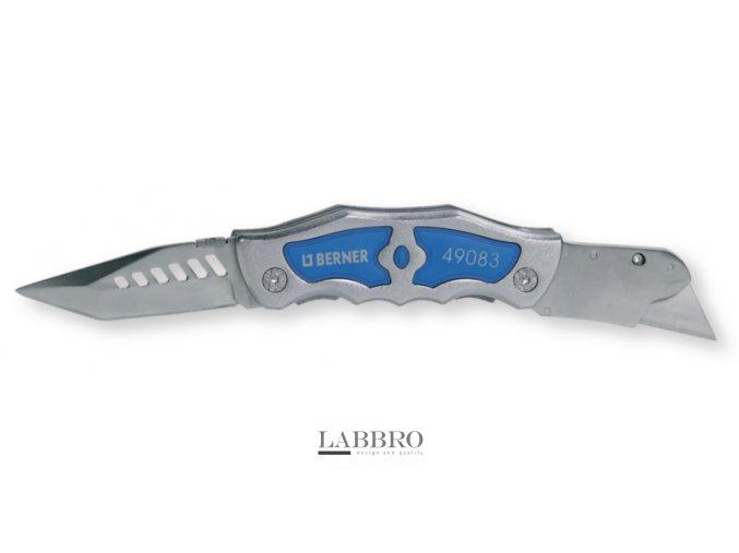 Nůž Blue Line 240 mm, se dvěma čepelemi