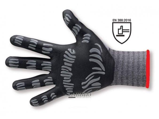 ochranné rukavice Flexus wave velikost 7