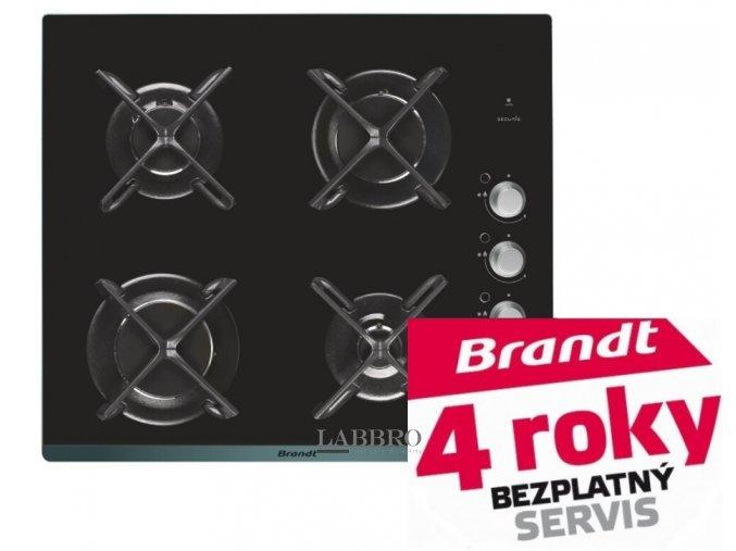 plynová varná deska Brandt BPG6414B 2