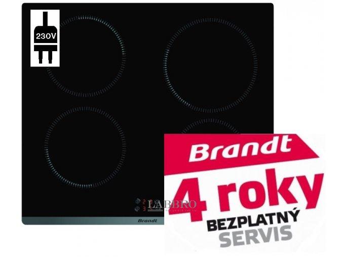 indukční varná deska Brandt BPI6410B 1
