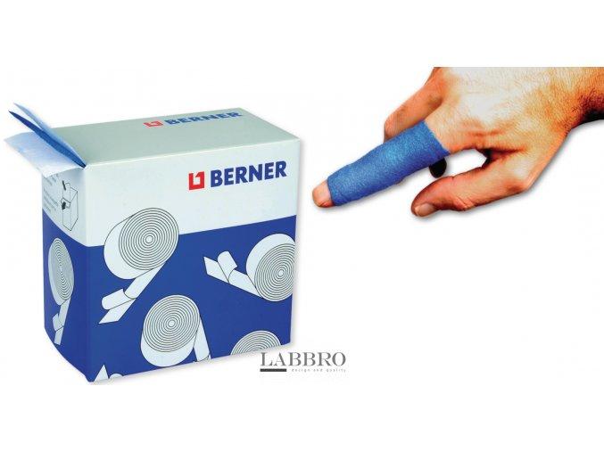 Berner voděodolná náplast neobsahující latex