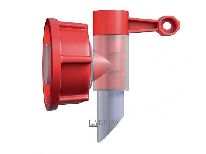 Vypouštěcí ventil pro kanystry 5 a 10 l dle DIN 51