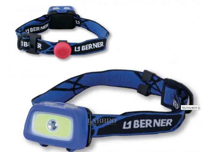 Berner Čelová baterka pro chodce