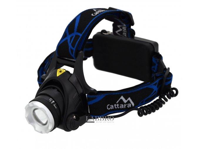 výkonná, voděodolná Čelovka LED 570lm ZOOM