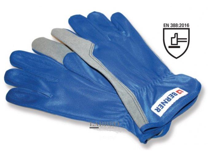 Berner Syntetické montážní rukavice 10