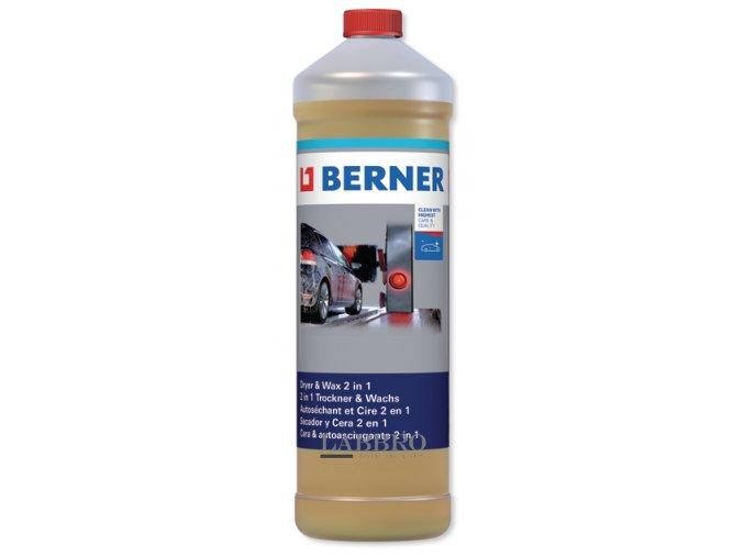 Berner Sušicí prostředek a vosk 2v1 1 litr