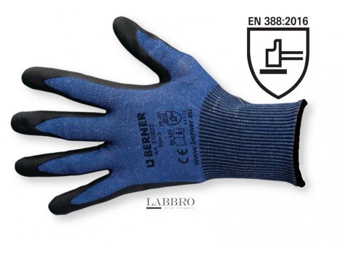 Berner rukavice odolné proti proříznutí velikost 10