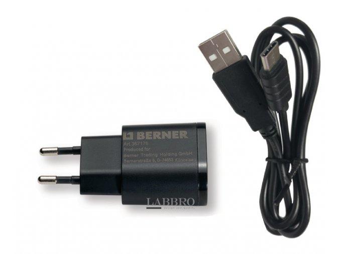 nabíječka Berner USB typ C