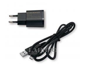 Berner nabíječka 1A + kabel