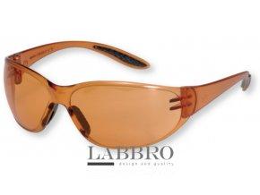 Berner ochranné brýle coolman oranžové