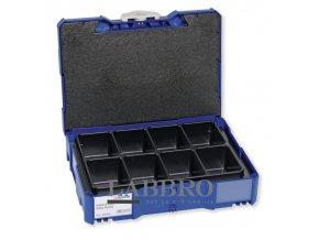 Berner Úložný kufr Bera Clic BERA Clic+ s osmidílnou vložkou