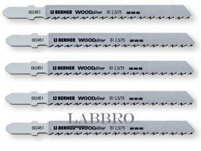 Berner Pilový list na dřevo přímočará pila