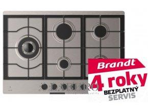plynová varná deska Brandt BPE6504X 2