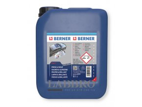 čištění, sušení a ochraně laku motorových vozidel 10V1 BERNER