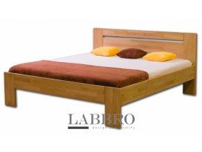 Masivní buková postel dvojlůžko manželská