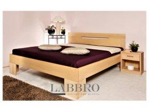buková postel Andrea dřevočal