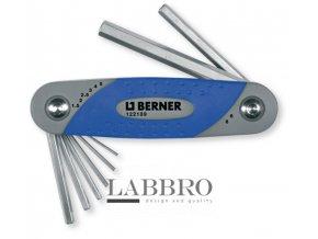 Berner sada úhlových klíčů s vnitřním šestihranem 2