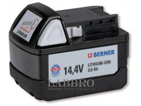 Berner Náhradní akumulátor BBP, 14.4 V, Lithiové ionty 1