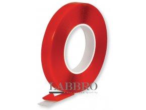 Berner Akrylová lepící páska oboustranná, transparentní 10mx12mm